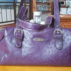 Purple Rosetti purse